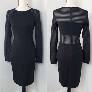 French Connection Black Long Sleeve Dress 4